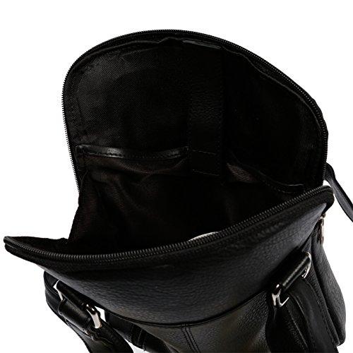 al hombre Christian negro cm Wippermann® 21x26x5 Negro hombro Bolso para XxwEqOAP