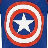 Marvel Boys' Captain America Two Piece Swim Set