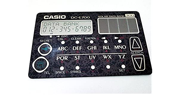 Casio DC-E700: Amazon.es: Oficina y papelería