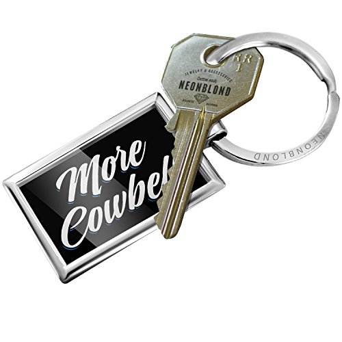 NEONBLOND Keychain Classic Design More Cowbell]()