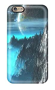 Cute High Quality Iphone 6 Nice Moon Over The Cliffs Case