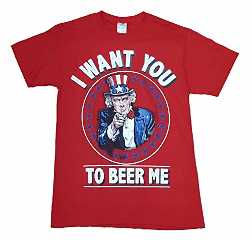 Uncle Sam I Want You To Beer Me Graphic T-Shirt