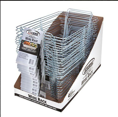 Sterno Products 70152 CPC Candle Lamp Chafing Dish Rack Wire44; Case of 18 ()