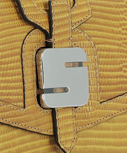 De Hombro Bolso Amarillo STIGRWLL6911M20B252 SERAPIAN Mujer Cuero wqRSHaH