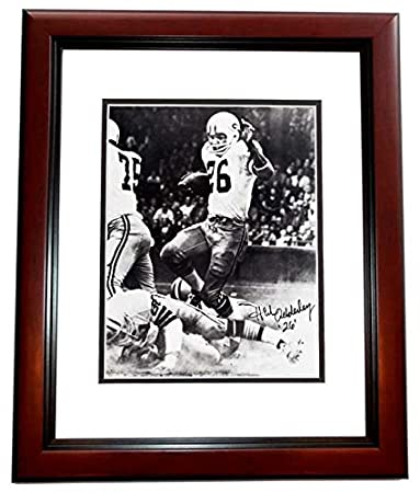 Herb Adderley Signed - Autographed Green Bay Packers 8x10 inch Photo  MAHOGANY CUSTOM FRAME - Guaranteed 38f1642cf