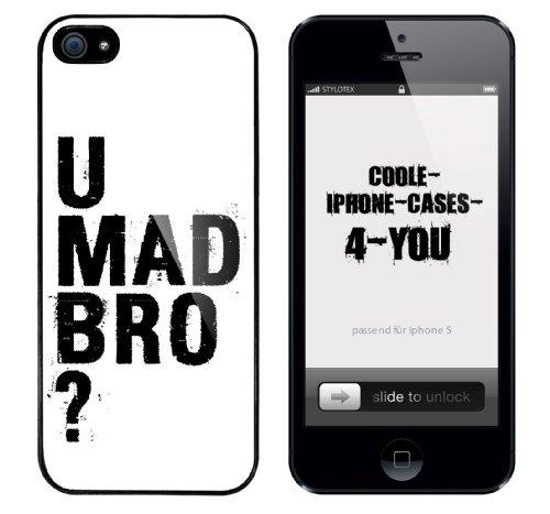 Iphone 5 Case U Mad Bro ? Rahmen schwarz