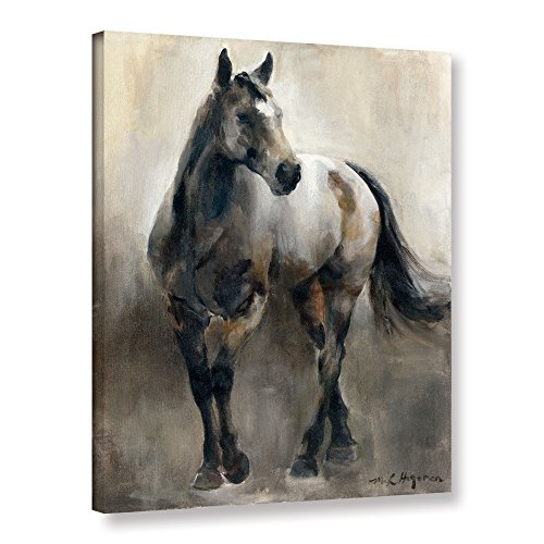 Large Copper Horse - ArtWall Marilyn Hageman's Copper and Nickel Gallery Wrapped Canvas, 24