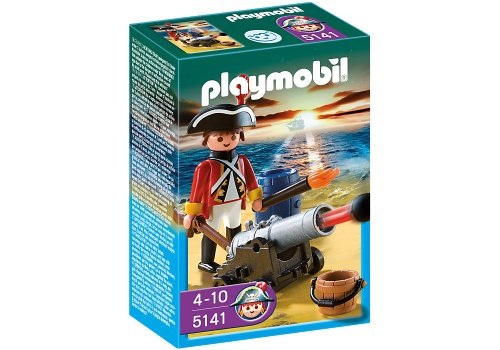 PLAYMOBIL® Redcoat Guard with Cannon