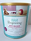 Well Beginnings Soy-Based Infant Formula with Iron