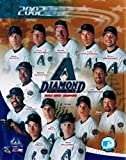 2002 World Series Champions Arizona Diamond Backs MLB Hologram 8x10 Color Glossy Photo in Mint ConditionThis Officially Licensed Collectible Photo comes in a BCW Acrylic Protective Top Loader!
