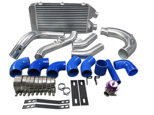 CXRacing Intercooler Piping kit BOV Turbo Intake For 2010-2015 Kia Optima 2.0T Blue Hoses