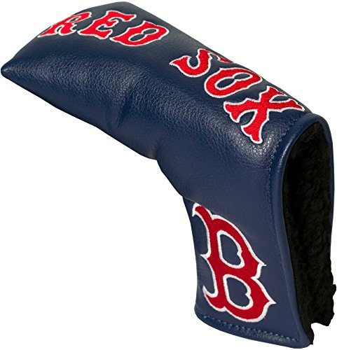 Team Golf MLB Boston Red Sox Golf Club Vintage Blade Putter Headcover, Form Fitting Design, Fits Scotty Cameron, Taylormade, Odyssey, Titleist, Ping, Callaway