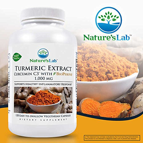 Natures Lab Turmeric Curcumin Vegetarian