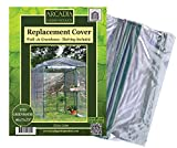 Arcadia Garden Products GH08 1-Sided Walk-In Replacement Cover Greenhouse