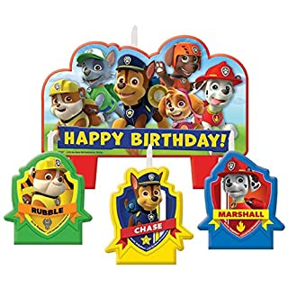 Paw Patrol Birthday Candle Set (B00T815G5G) | Amazon Products