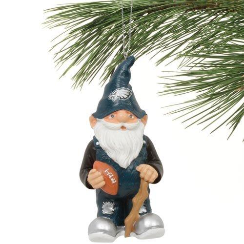 Philadelphia Eagles NFL Gnome Christmas Ornament (Philadelphia Eagles Garden Gnome)