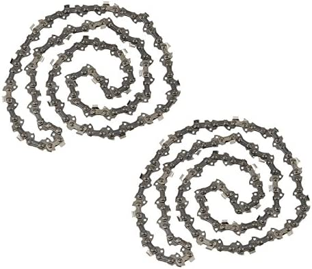 "4 Pack Chainsaw Chain 3//8/"" 0.050 Semi Chisel 52 DL for 14/"" Echo CS-3400 CS-341"