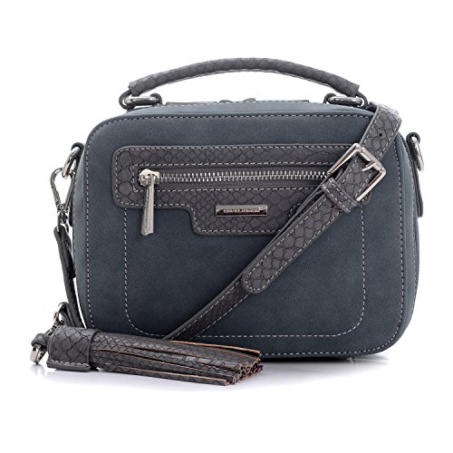 David Bandoulière Cuir Bleu Foncé Porté tout Poignée Messenger Pu Designer Poche Fourre JonesSac Daim Serpent Rectangle Besace Nubuck Caméra Bimatière Sacoche Main À Original Bag Epaulé CBroexWd