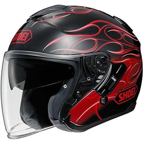 Shoei J-Cruise Reborn Open-Face Street Motorcycle Helmet - TC-1 / Small