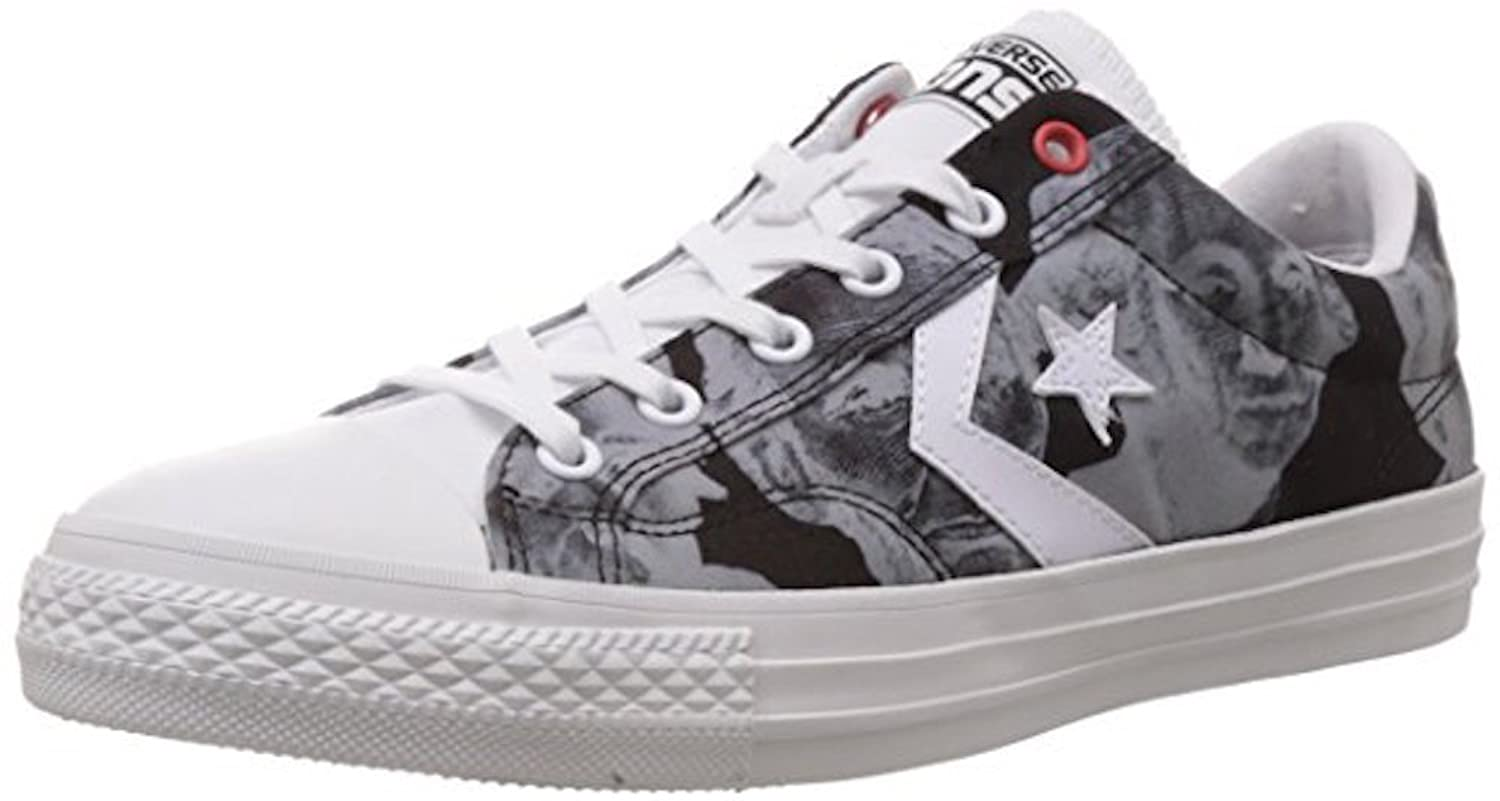 Amazoncom  Converse Cons Star Player Ox Low Unisex Mens Trainers 147393C Mens105 Womens 125  Fashion Sneakers