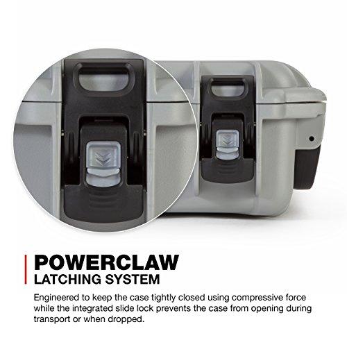 Nanuk 905 Waterproof Hard Case with Foam Insert - Silver