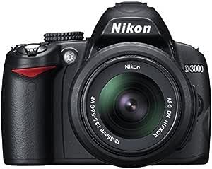 Nikon D3000 - Cámara Réflex Digital 10.2 MP (Cuerpo): Amazon.es ...