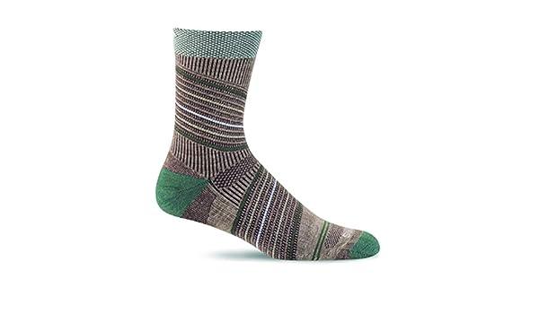 Sockwell Circulator - Calcetines de compresión de cumbre tripulación socks- ideal para senderismo, deportes al aire libre, viajes, reducir la fatiga ...