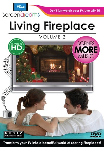 living fireplace dvd - 1