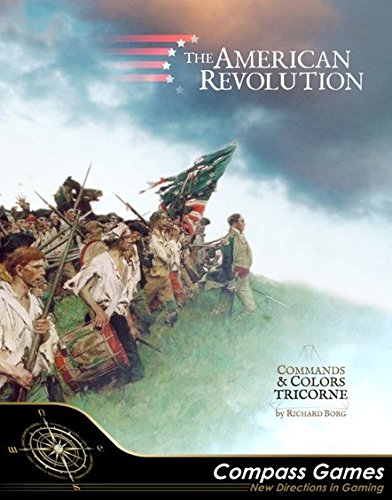 100%の保証 CPS: the American Revolution, aka aka Commands & Colors Tricorne, Game B0764ZFMHF Grand Tactical Game of 12 Battles of the American B0764ZFMHF, アバソン:86170496 --- arianechie.dominiotemporario.com