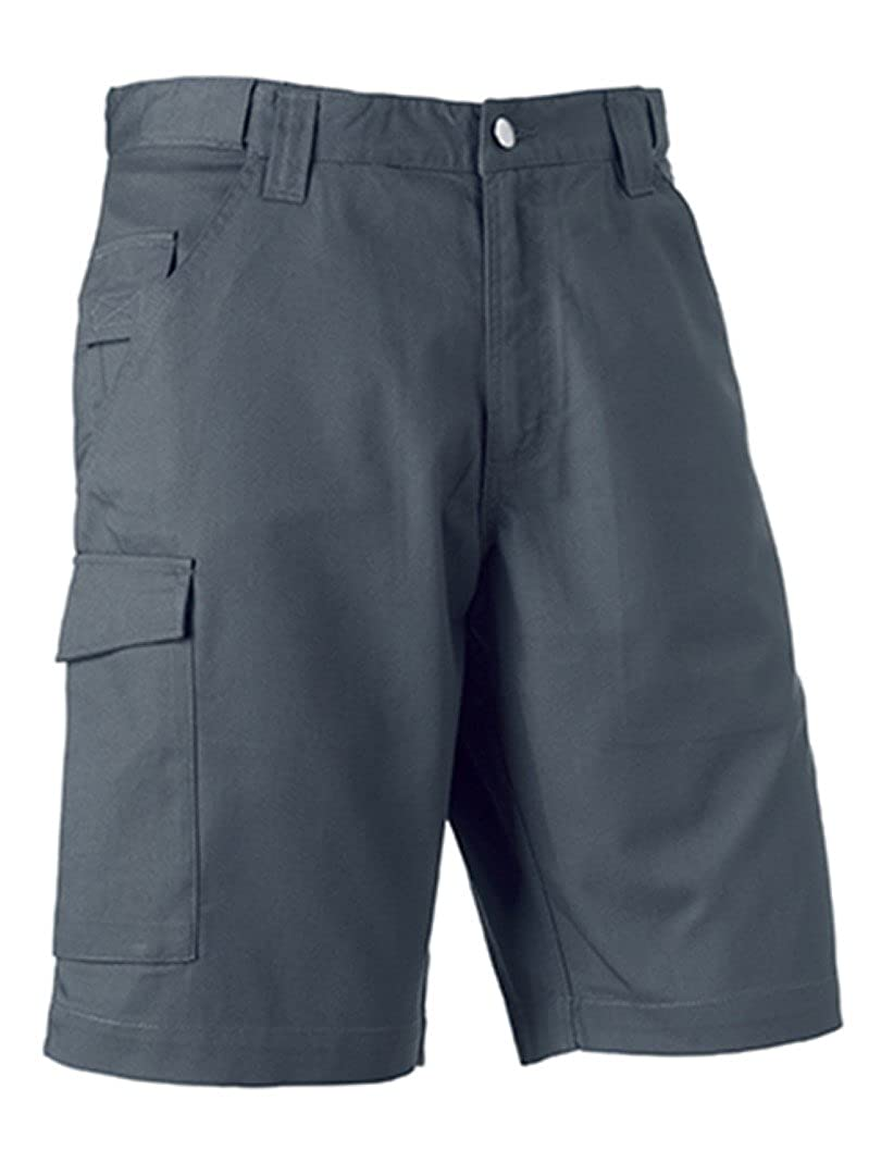 Russell Workwear Work Shorts : Color - Convoy Grey : Size - 38 penship