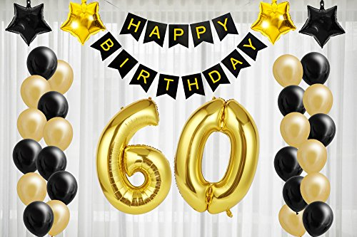 60th Birthday Decorations For The Best Party