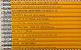 Game Of Thrones TV Show Sayings On Pencils