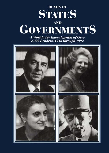 Download Heads of States and Governments Since 1945 Pdf