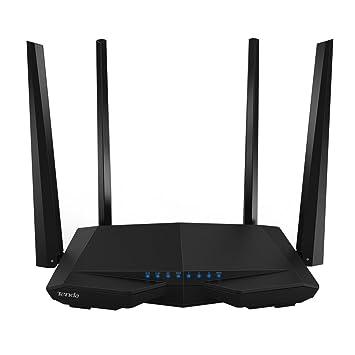 Tenda Wireless Router Adaptador USB Wifi Enrutador Wi-Fi de doble banda inteligente con soporte