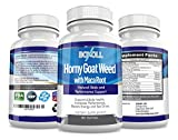 HORNY GOAT WEED with MACA ROOT - 60 Capsules - Libido Enhancer, Energy Boost, Sex Driver Enhancer, Testosterone Boost & Stamina - Performance and Desire - 51jJ5uAH5jL - HORNY GOAT WEED with MACA ROOT – 60 Capsules – Libido Enhancer, Energy Boost, Sex Driver Enhancer, Testosterone Boost & Stamina – Performance and Desire