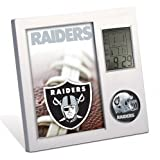 NFL Oakland Raiders Digital Desk Clock