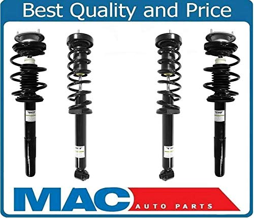 Mac Auto Parts 156971 Front & Rear Left & Right Complete Struts For BMW 525I 528I 530I W/O Sport Susp ()