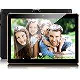Padcod 10.1 inch Tablet Android Unlocked 3G Phone Tablet PC 2GB+32GB MTK 6592 Quad Core IPS Screen Cell phone Support 2G 3G Wi-Fi Dual SIM Card Bluetooth Tablet