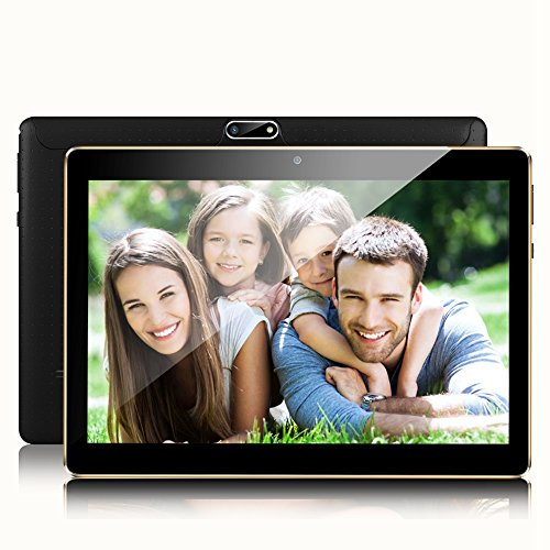 Padcod 10.1 inch Tablet Android Unlocked 3G Phone Tablet PC 2GB+32GB MTK 6592 Quad Core IPS Screen Cell phone Support 2G 3G Wi-Fi Dual SIM Card Bluetooth Tablet by Padcod
