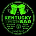4x ccp2017-g KENTUCKY Name Home Bar Beer Drink 3D Engraved Coasters