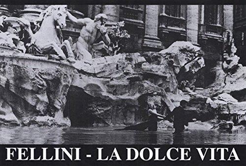La Dolce Vita  27 x 40 Movie Poster - Italian Style B