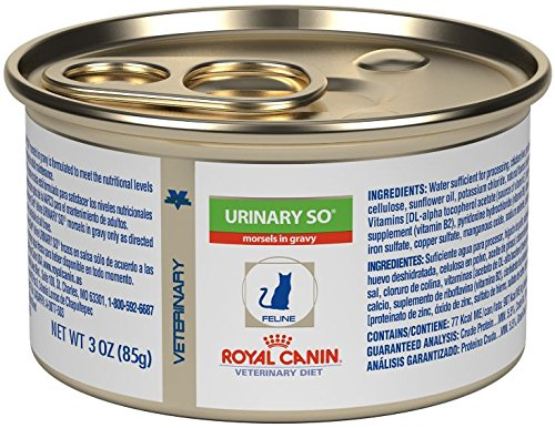 Royal Canin Feline Urinary SO Morsels in Gravy Can (24/3 Ounce) by Royal Canin