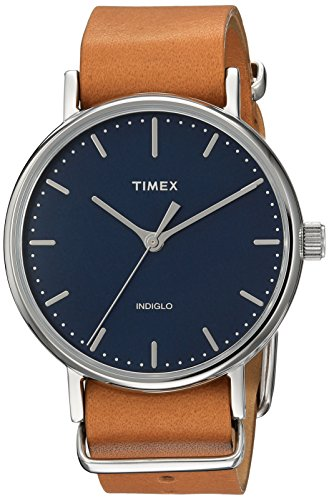 Timex TW2P98300 Fairfield Leather Slip Thru product image