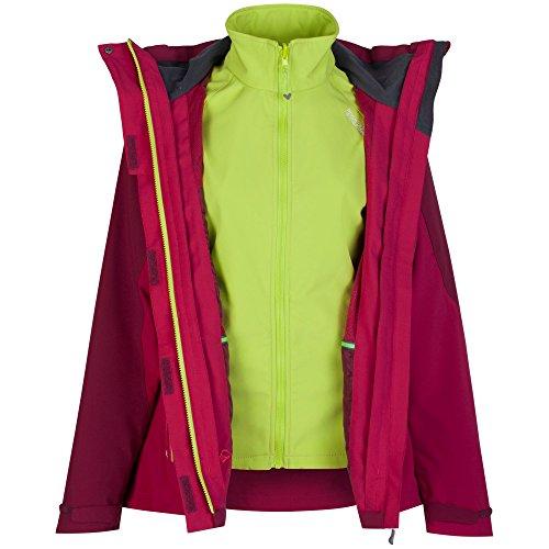 Regatta Chaqueta 3 en 2 con capucha modelo carletta para mujer (44/lago/cereza) Dk5kg1Ec8