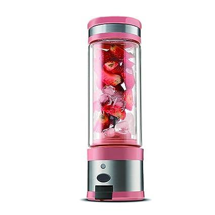 Nclon Mini Batidora Máquina de romper el hielo Zumos de fruta Mixer,Exprimidor Portable Usb