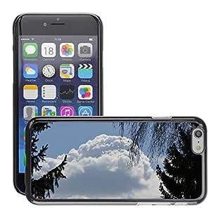 "Print Motif Coque de protection Case Cover // M00158434 Nubes cielo azul Siluetas de los // Apple iPhone 6 6S 6G 4.7"""