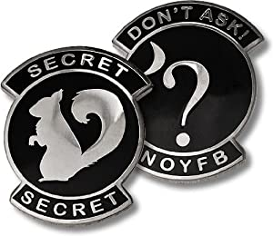 USAF Don't Ask Secret Squirrel Challenge Coin