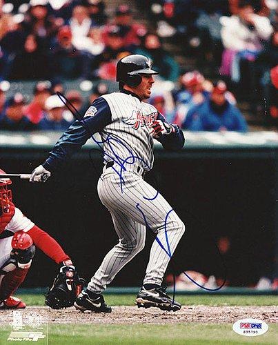 (Jim Edmonds Signed 8x10 Photograph Angels - Certified Genuine Autograph By PSA/DNA - Autographed Photo)