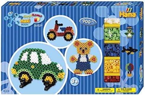 Hama Beads-8715 Caja de Regalo para Manualidades, Color Azul Gigante (8715): Amazon.es: Juguetes y juegos