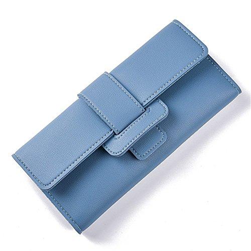 à Deux rabbit Titulaire Femme Multi Long Blue de Hasp Carte Wallet Fold Main la Color Zipper Purse Lovely Blue Sac Zxw5qC0ndZ